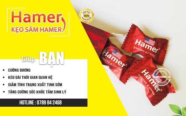 Kẹo sam hamer tăng cường sức khỏe